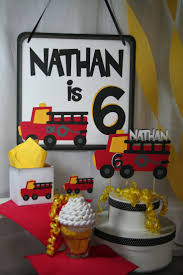 292 Best Fire Truck Birthday Party Images On Pinterest ... Childrens Parties F4hire Firetruck Themed Birthday Party With Free Printables How To Nest A Twoalarm Fireman Spaceships And Laser Beams Amazoncom Creative Converting Fire Truck Lunch Plates 8ct Toys Great Idea For Firemen Bachelor Party Start Decorations Liviroom Decors Special 43 Best Firefighter Ideas Images On Pinterest Firetruck Birthday Card Happy