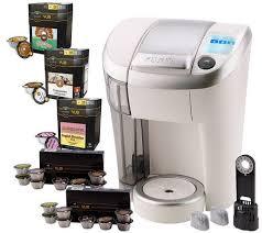 Keurig Vue V500 Single Serve Coffee Maker W 56 Packs Water Filter