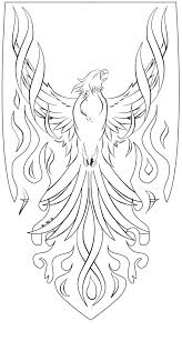 Glorious And Brightening Red Eagle Tattoo Is Fully Covered Bird Coloring Pages