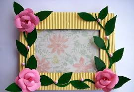 Creative Arts And Crafts Ideas For Adults Art Craft Photo Frames N Home Decor Trends Frame Movement