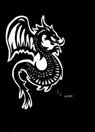 Gothic Dragon Tattoo By Silgan