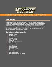 Video Game Truck Pages 1 - 3 - Text Version | PubHTML5 Birthday Video Game Truck Pictures In Orange County Ca Game Truck Will Now Start Carrying The Nintendo Switch Bleeding Media Extreme Brians Best Birthday Party Ever With Extreme Zone Inflatables Mobile Video Parties Cleveland Akron Canton Dalton And Elliot Hwy Summer Edition V 10 128x Scs Softwares Blog Meanwhile Across The Ocean Gallery 2 Hours 20 To Plan A On Boys Theme Newyorkcilongisndinflablebncehousepartyrental