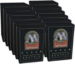 mtg world chionship decks 1997 1997 world chionships box with 12 decks mtg magic the