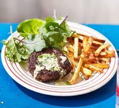 comment cuisiner un steak haché steak haché with pommes frites s béarnaise sauce recipe