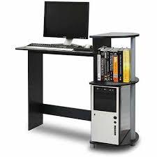 Small Black Computer Desk Walmart by Furinno 11181 Compact Computer Desk Walmart Com
