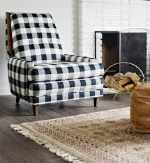 Wonderfully Upholstered Black & White Buffalo Check Chairs ... Amazoncom Kfine Youth Upholstered Club Chair With Storage Best 25 Bedroom Armchair Ideas On Pinterest Armchair Fireside Chic A Classic Wingback Chair A Generous Dose Of Gingham And Ottoman Ebth Pink Smarthomeideaswin Armchairs Traditional Modern Ikea Fantasy Fniture Roundy Rocking Brown Toysrus Idbury In Ol Check Wesleybarrell Chairs For Boys For Cherubs Wonderfully Upholstered Black White Buffalo Check