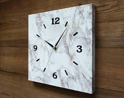 Unique Modern Wall ClockLarge ClockSilent ClockShabby Chic Decor