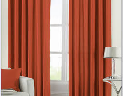 curtains infatuate finest orange patterned sheer curtains
