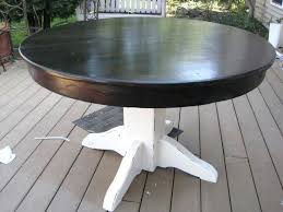 Restoring Wood Furniture Without Stripping Paint Table Makeover