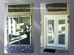 Lowes Patio Door Removing Patio Sliding Door And Installing French