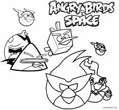 Angry Birds Space Coloring Pages Free