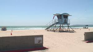100 Silver Strand Beach Oxnard Great White Shark Sighting Prompts Beach Advisory Along