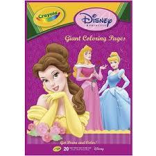 Crayola Disney Princess Giant Coloring Book