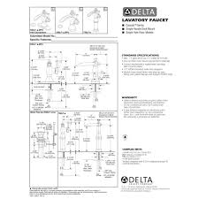 Delta Faucets Cassidy Line by Delta Faucet 598lf Pnmpu Cassidy Polished Nickel One Handle