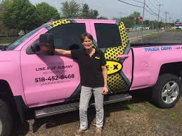 100 Line X Truck Breast Cancer Survivor And LINE Franchise Owner Uses New Business