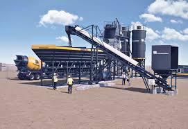 100 Concrete Truck Capacity Batching Plant Putzmeister INDIA