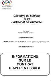 chambre des metiers du vaucluse chambre de métiers et de l artisanat de vaucluse bp avignon cedex 1
