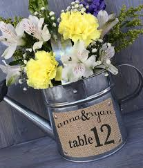 Rustic Wedding Centerpieces Water Pincer