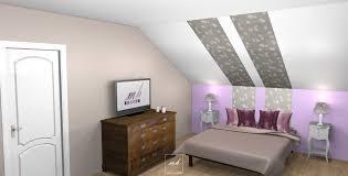 chambres sous combles amenager une chambre sous pente avec deco chambre sous comble mes