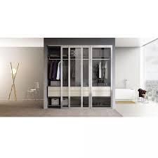 Charming Armoire Wardrobe Mirrored Doors Deliryum Trysil