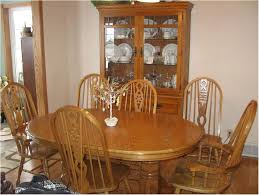 Remarkable Oak Dining Room Chairs Oval Table And