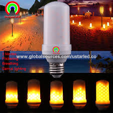 china new 3w flickering led candles bulbs 3 function modes