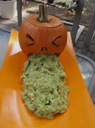 Pumpkin Guacamole Throw Up Cheese by October 2012 Jen U0027s Backyard