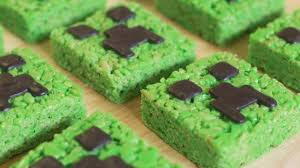 Nerdy Nummies Halloween Challenges by Minecraft Creeper Rice Krispy Treats Nerdy Nummies Youtube