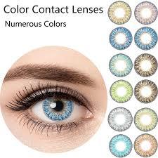 Ice Cream Prescription 4 Colors 12 Month Contact Lenses 2 Pieces