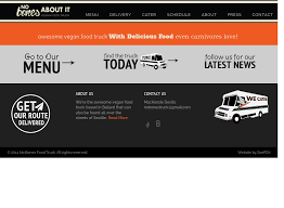 No Bones About It - Food Truck Competitors, Revenue And Employees ... Example 8 Food Truck Website Template Godaddy Qsr Magazine Features Kona Dog Franchise 7 Websites On The Road To Success Plus Your Chance Win Big Best Wordpress Themes 2016 Thememunk At G Building Lakeshore Humber Communiqu Foodtruck Pro Tip Strive For That Perfect Attendance Award Be Website Design Behance Find Bangkok Trucks Daily Locations On Their New Our Inspirational Simple Math Rasta Rita Is Beautify Created Creative Restaurant Theme
