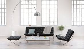 Eames Sofa Compact Replica by Barcelona Chair Replica Pavilion Chair Replica Exposition Chair