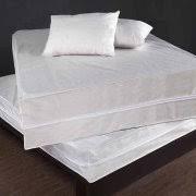 fresh ideas fitted vinyl mattress protector walmart com