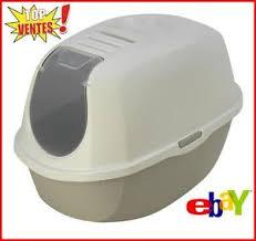 maison de toilette chat bac litiere chat avec filtre anti odeur