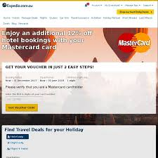 Expedia - Save 12% On Hotels When Using MasterCard - OzBargain Expedia Blazing Hot X4 90 Off Hotel Code Round Discover The World With Up To 60 Off Travel Deals Coupons Coupon Codes Promo Codeswhen Coent Is Not King How Use Coupon Code Sites Save 12 On Hotels When Using Mastercard Ozbargain Slickdeals Exclusive 10 Off Bookings 350 2 15 Ways Get A Travel Itinerary For Visa Application Rabbitohs15 Wotif How Edit Or Delete Promotional Discount Access 2012 By Vakanzclub Deals Since Dediscount Promotion Official Travelocity Discounts 2019