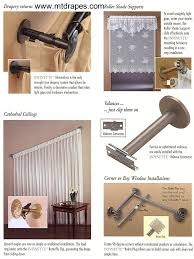 Decorative Traverse Rod With Clips by Infinette Decorative Curtain Hardware Easy Installation