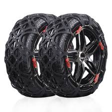 Snow Tire Chains/Anti-Slip Chain Fit For Most Car/SUV/Trucks With ...
