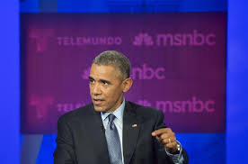 Obama Empty Chair Tweet by President Obama Talks Dhs Funding Immigration Reform At Town Hall