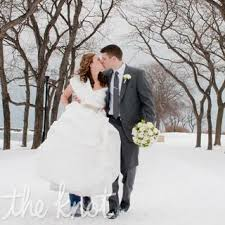 Real Winter Wedding Dresses