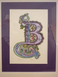 89 best ILLUMINATED LETTERS images on Pinterest