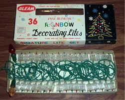Vintage Christmas Lights Gleam Light Reflector Set Tree For Sale Uk