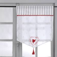 brise bise en coton gris blanc motifs poule et cœurs
