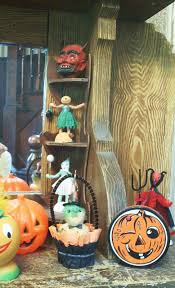 Vintage Halloween Blow Molds by Vintage By Crystal Spooky Entryway