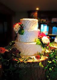 Buttercream Wedding Cake By Frizelle Cakes Chichester Rustic White Finish