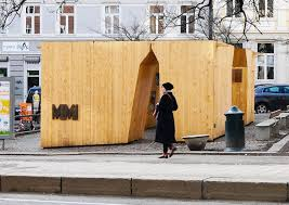 100 Rintala Eggertsson Architects Popup Art Gallery Brings Beauty Back To A Public Square In Oslo