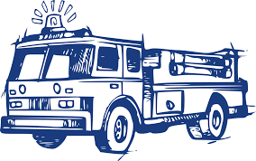 100 Black Fire Truck 19 Truck Svg Black And White HUGE FREEBIE Download For