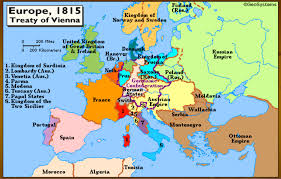 This Is A Map Of Europe After The Congress Vienna You Can See Much Poland Belonging To Russia