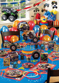 100 Monster Truck Decorations Jam Ultimate Party Pack Jam Party Supplies