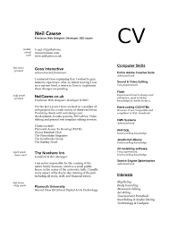 Resume Computer Skills Examples And Get Inspired To Make Your With These Ideas Put