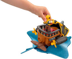 Off Powerpad Lamp And Lantern by Amazon Com Fisher Price Imaginext Captain Nemo U0026 Stingray Toys