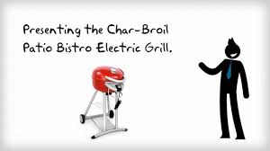 Patio Caddie Grill Electric by Benefits Of Char Broil Patio Bistro Electric Grill Youtube